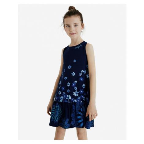 Desigual Lisa Kids Dress Blue