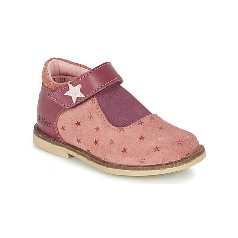 Kickers MOLY girls's Children's Shoes (Pumps / Ballerinas) in Pink