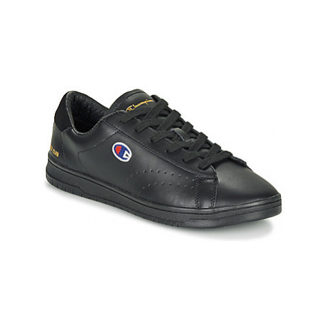 Champion COURT CLUB PATCH men's Shoes (Trainers) in Black