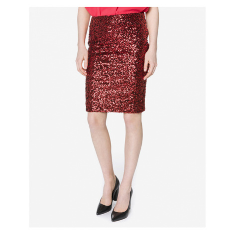 Vero Moda Glamour Skirt Red