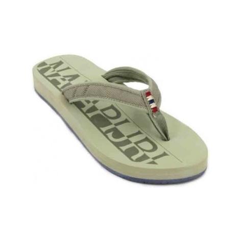Napapijri Ariel 16798556 Sandals Women's Flip Flops women's Flip flops / Sandals (Shoes) in Gree