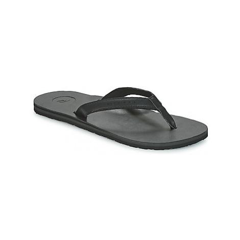 Rip Curl STONES men's Flip flops / Sandals (Shoes) in Black