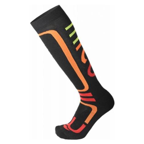 Mico MEDIUM PERFORMANCE SNOWBOARD SOCKS W black - Women's snowboard socks