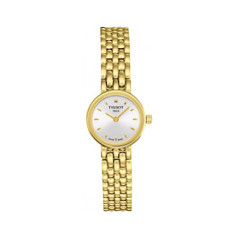 Tissot T0580093303100 Women's Lovely Bracelet Strap Watch, Gold/White