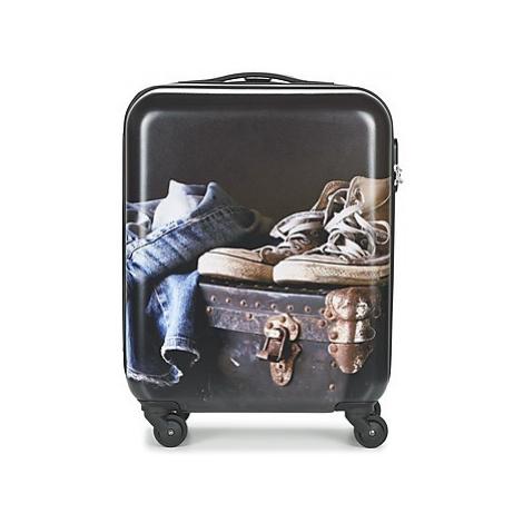 David Jones ACHIDATA men's Hard Suitcase in Multicolour