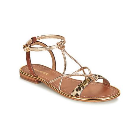 Les Tropéziennes par M Belarbi HIRONDEL women's Sandals in Gold