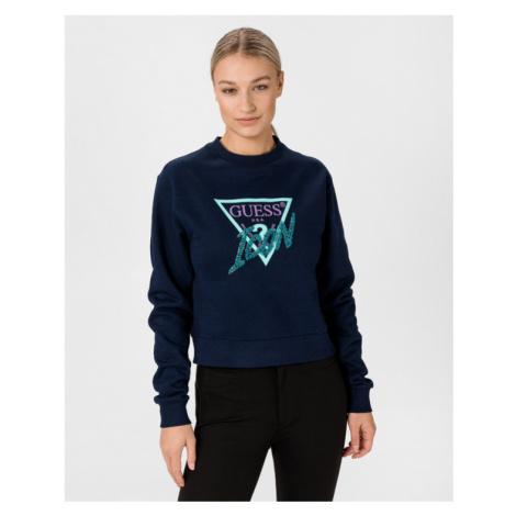 Guess Icon Sweatshirt Blue
