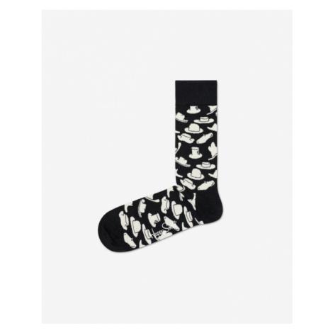 Happy Socks Hats Socks Black