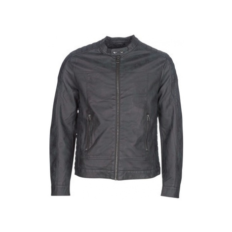 Esprit VENI men's Leather jacket in Black