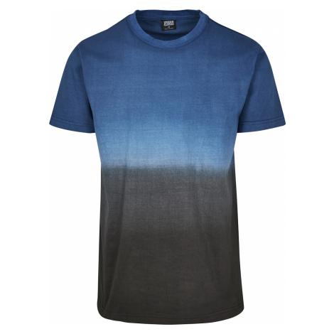 Urban Classics - Dip Dyed Tee - T-Shirt - black-blue
