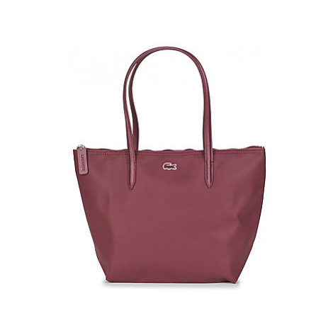 Lacoste L.12.12 CONCEPT SMALL women's Shopper bag in Bordeaux