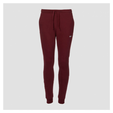 MP Men's Essentials Joggers - Oxblood Myprotein