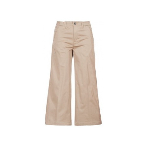 G-Star Raw BRONSON HIGH LOOSE CHINO 7/8 WMN women's Trousers in Beige