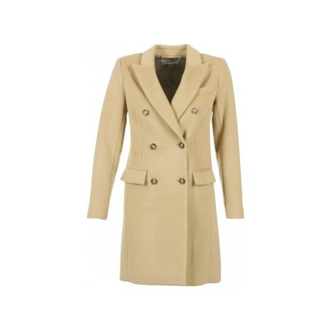 MICHAEL Michael Kors LADAL women's Coat in Beige