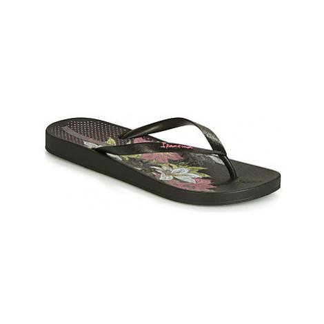 Ipanema ANAT TEMAS VIII women's Flip flops / Sandals (Shoes) in Black