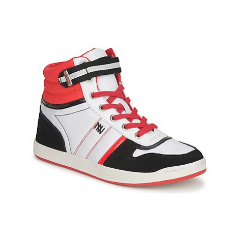 Dorotennis STREET LACETS women's Shoes (High-top Trainers) in Multicolour