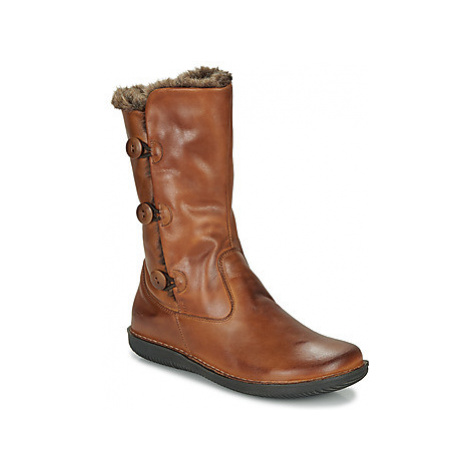 Casual Attitude LASSIE women's High Boots in Brown