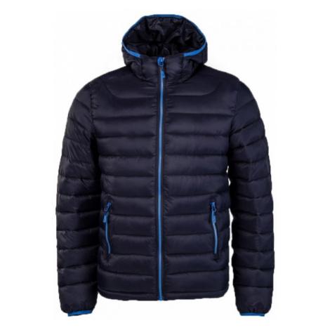 Willard LESS dark blue - Kids' quilted jacket