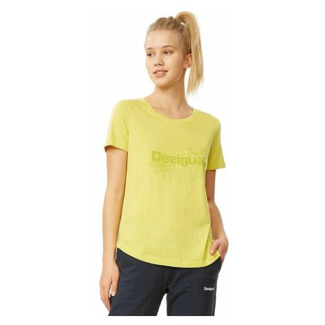 T-Shirt Desigual 18WOTK21/Tank Co Essential - 4013/Lima - women´s
