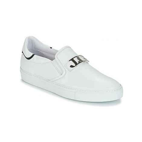 John Galliano 4743 men's Slip-ons (Shoes) in White