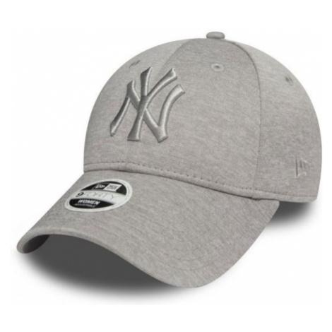 New Era 9FORTY W MLB JERSEY HEATHER WMN NEW YORK YANKEES grey - Women's club baseball cap