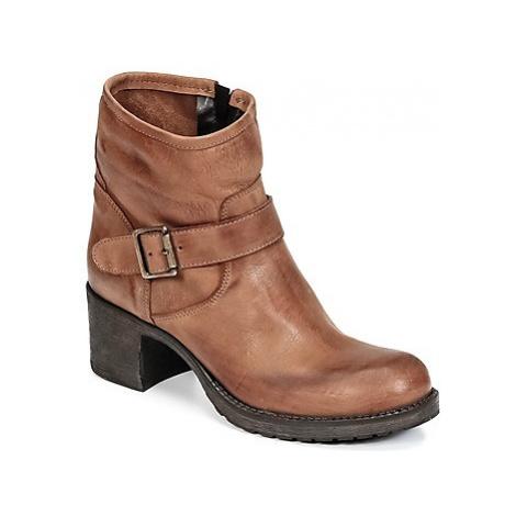 Sweet Lemon EJODE women's Low Ankle Boots in Brown