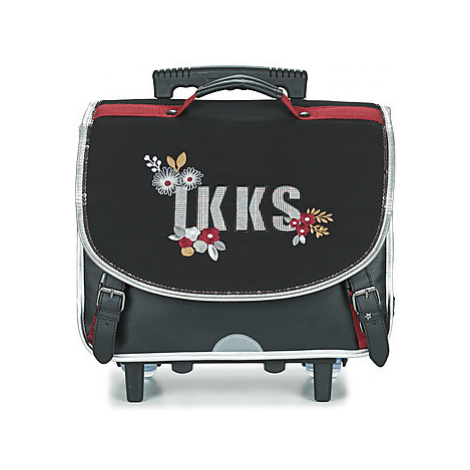 Ikks BLACK TEA TROLLEY CARTABLE 38 CM girls's Children's Rucksack in Black