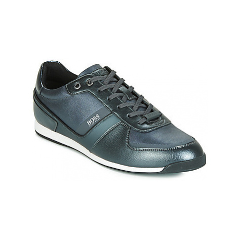 BOSS MAZE LOWP NYMP men's Shoes (Trainers) in Grey Hugo Boss