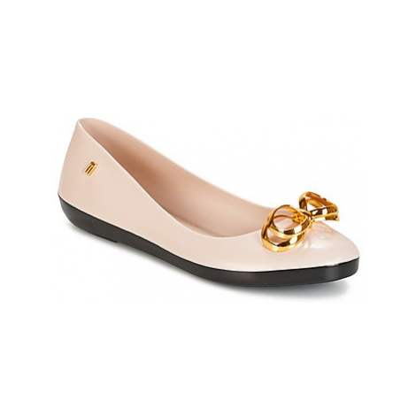 Melissa COLOR FEELING II SP AD women's Shoes (Pumps / Ballerinas) in Beige