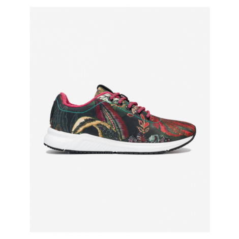 Desigual AOP Palm Sneakers Red Colorful