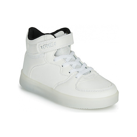 Primigi TOTAL LIGHT girls's Children's Shoes (High-top Trainers) in White