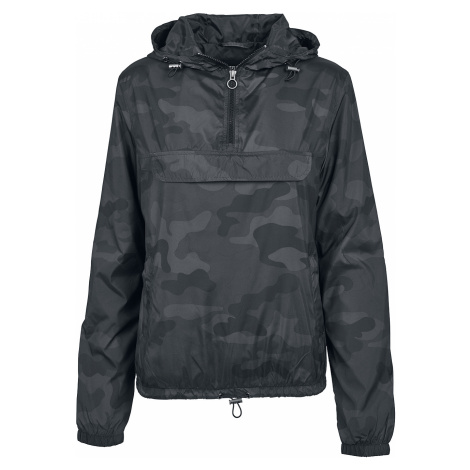 Urban Classics - Ladies Camo Windrunner - Girls windbreaker - dark camo