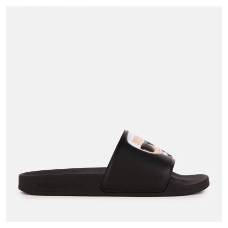Karl Lagerfeld Women's Kondo II Ikonic Slide Sandals - Black - UK