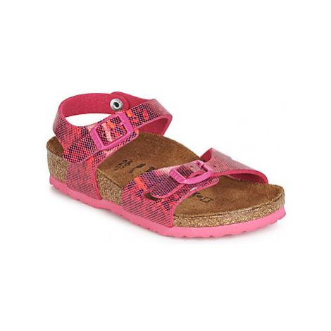 Birkenstock RIO girls's Children's Sandals in Pink