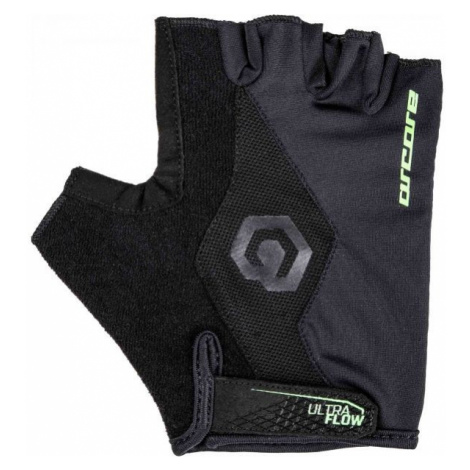 Arcore SOLO green - Short finger cycling gloves