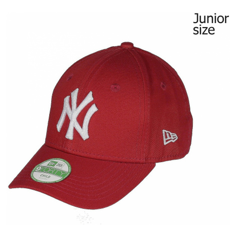 cap New Era 9FO League Basic MLB New York Yankees Kid's - Scarlet/Optic White