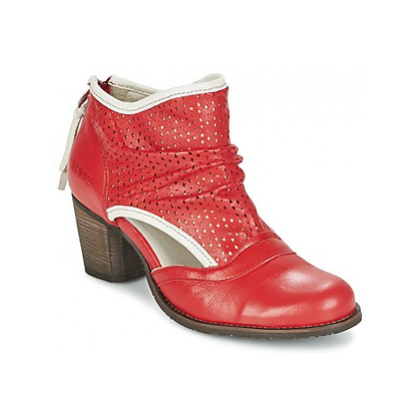 Dkode BAHAL women's Low Ankle Boots in Red