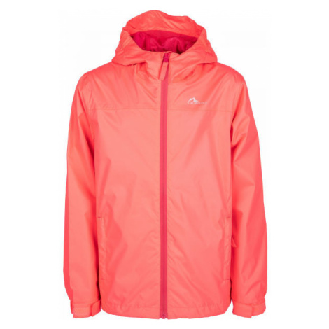 Lewro CHICO orange - Girls' nylon jacket