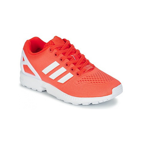 Adidas ZX FLUX EM women's Shoes (Trainers) in Red