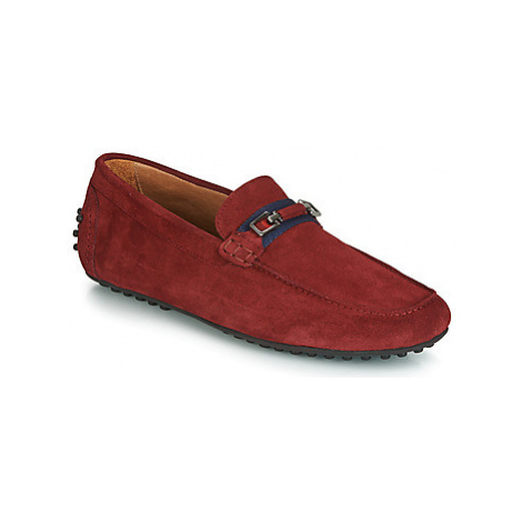 Brett Sons RICHARDI men's Loafers / Casual Shoes in Red