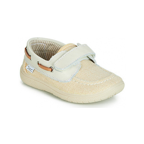Citrouille et Compagnie JALOLIE boys's Children's Boat Shoes in White