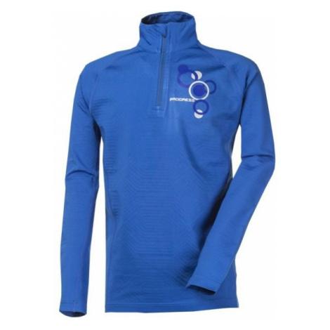 Progress ESKYMO BOY blue - Boys' zip sweatshirt