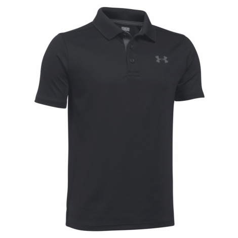 Under Armour Performance Kids Polo Shirt Black