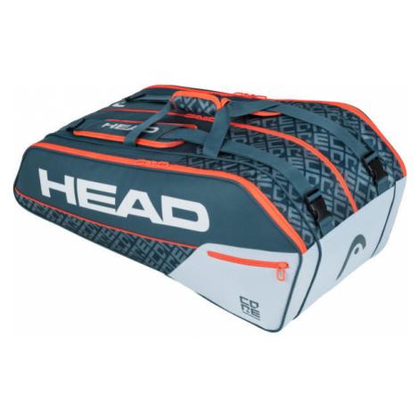 Head CORE 9R SUPERCOMBI grey - Tennis bag