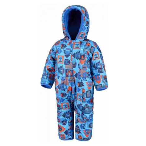 Columbia SUNGGLY BUNNY BUNTING blue - Kids' winter overall
