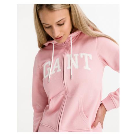 Gant Arch Logo Sweatshirt Pink