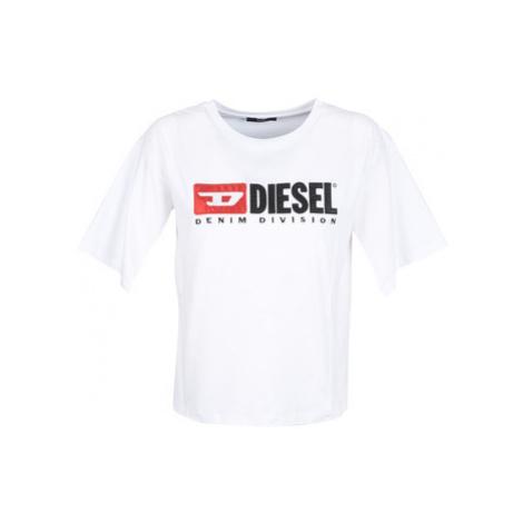 Diesel T JACKY women's T shirt in White