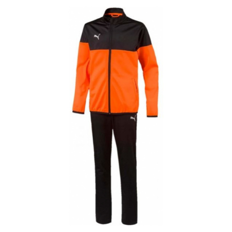 Puma ftblPLAY TRACKSUIT JR orange - Boys' tracksuit