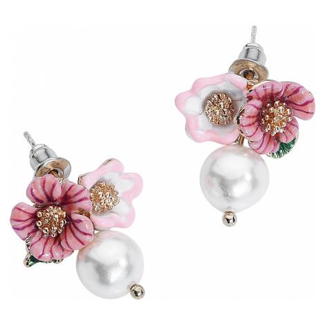 Wildkitten® - Cute Flower Pearl Earstuds - Earpin set - multicolour