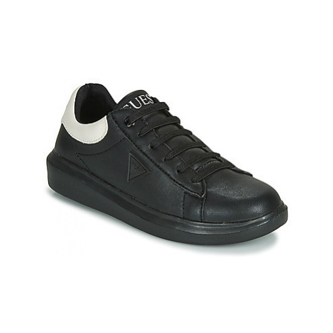 Guess IDOL boys's Children's Shoes (Trainers) in Black
